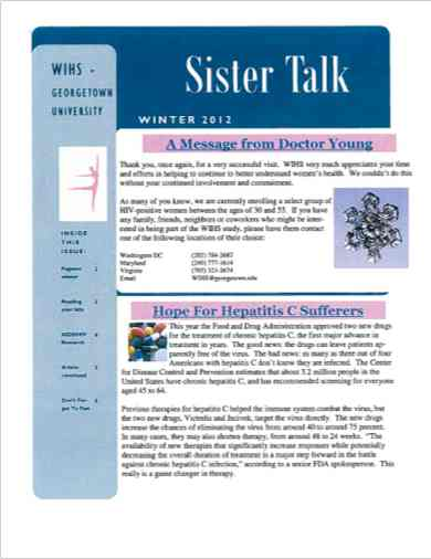 cover image of 'Sister Talk' Winter 2012